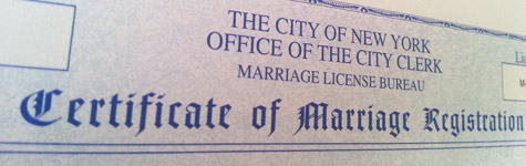 Bröllop önskemål om ett nygift par